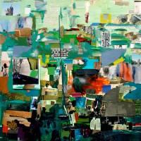 """Green Collage"" by WorldofDaisy"