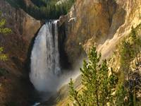 Lower Falls, Grand Canyon of Yellow Stone Nationa