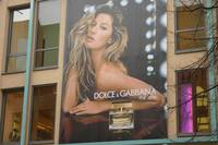 Dolce and Gabbana ad in Nürnberg
