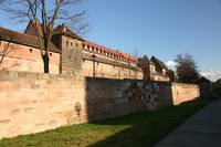Old city walls of Nürnberg