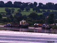 Boats on the Severn Estuary