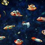 """Toys in Space"" by Jere"