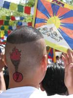 Pro-Tibet Protester