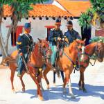 """""""Soldiers in Old Town San Diego by Riccoboni"""" by RDRiccoboni"""