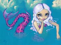 Pink Spotted Mermaid