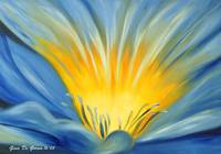 From the Heart of a Flower, BLUE, by Gina De Gorna