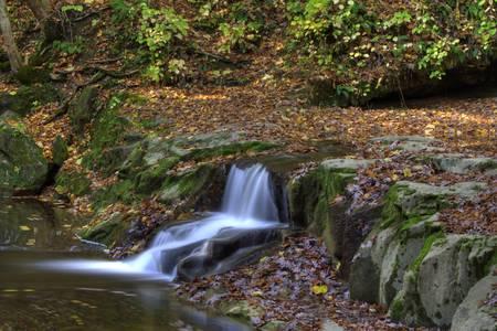 Fall Creek Gorge - Waterfall #2 (IMG_6338+)