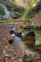 Fall Creek Gorge - Carved Rock #2 (IMG_6359+) by Jeff VanDyke