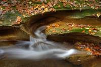 Fall Creek Gorge - Water Slide (IMG_6385) by Jeff VanDyke