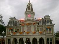 City Hall on halloween