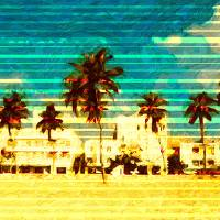 Welcome to Miami Art Prints & Posters by Cesar Peralta