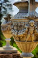Angel on an urn.