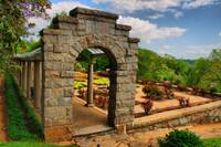 Archway at Maymont, i can't wait for all the flowe