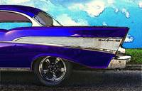 1957 Chevrolet Bel Air in the Clouds (Blue)
