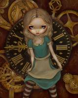 Steampunk Alice in Wonderland: Alice in Clockwork