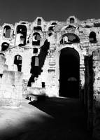 Arches of El Jem's Coloseum