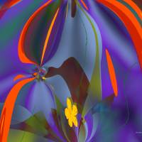 flowers and wind Art Prints & Posters by Shan Maree Hall Ballester
