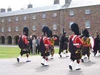 scotland - The 'Seaforth' regiment's military band