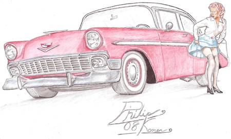 56 Chev by Philip Konen