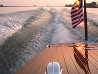 Sunset Boat Ride by Daniel Teetor