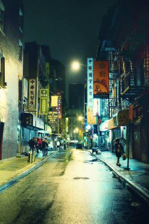 Closing Time in Chinatown Art Prints by Jorg Dickmann