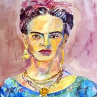 """""""Frida Kahlo"""" by DavidNoahGiles"""