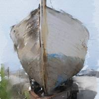 Moss Landing Boat Art Prints & Posters by Sarah Madsen