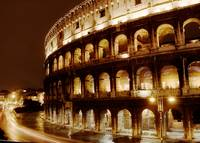 Colosseum on Halloween Night