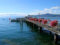 Jetty on Lake Geneva