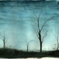Winter Trees Art Prints & Posters by Joanna Posey