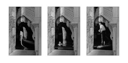 Gondola, Sequence Collage, Venice