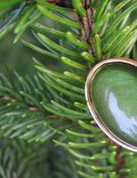 Green Ring in Evergreen