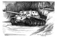 Jagdpanther WWII German Tank Destroyer