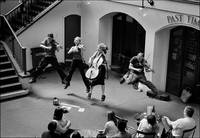 Covent Garden, the Jumping Quartet, London