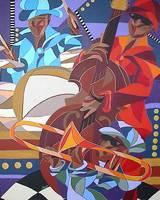 Jazz Trio by Kristen Stein