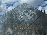 Glass Pyramis at The Louvre