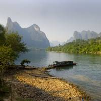 """Li River, China - Fine Art Poster - Landscape"" by Bozarth"