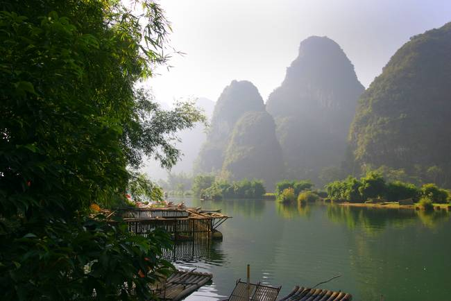 Li River, China  Subject: fine art, landscape