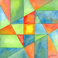 Color Square Abstract