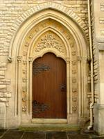 Cathedral Side Door
