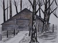COUNTRY BARN PAINTING