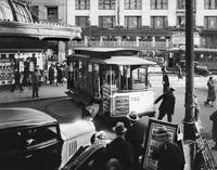 Cablecar Turnaround at Powell and Market Street, c by WorldWide Archive