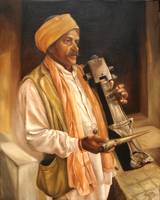 A JOGI - INDIAN INSTRUMENT PLAYER