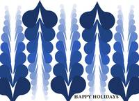 holiday card_blue