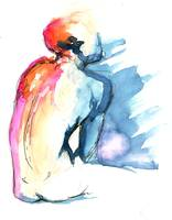 Figure Study in Watercolor 2