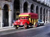 Cuban Truck in Old Habana