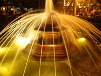 Sombrero fountain.