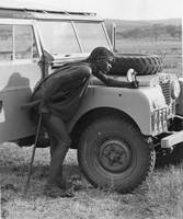 Masaai Warrior 1958