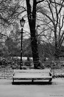 Battersea Park in Snow