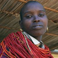 Samburu woman named Norah Art Prints & Posters by Marlene C. Francia